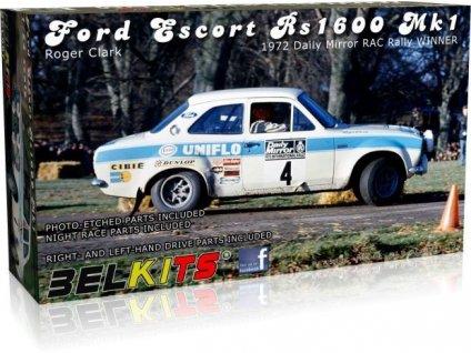 Ford Escort RS1600 Mk1 (Roger Clark) 1:24