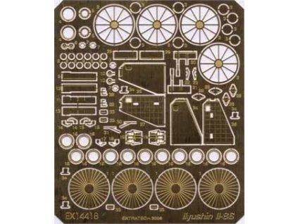 Detaily pre Il-86 (Zvezda) 1:144