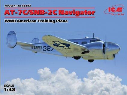 AT-7C/SNB-2C Navigator Training plane 1:48