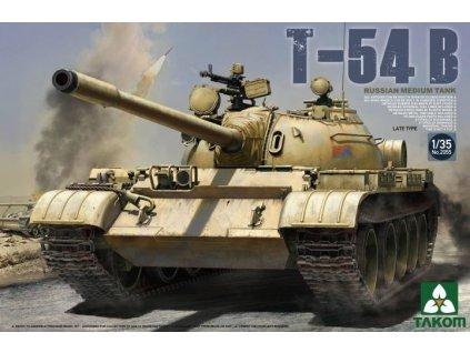 Sovietsky stredný Tank T-54B neskorá verzia 1:35