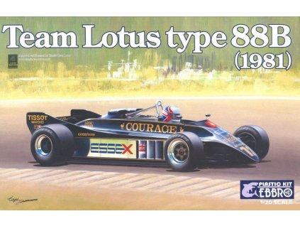 Team Lotus Type 88B 1981 Courage 1:20