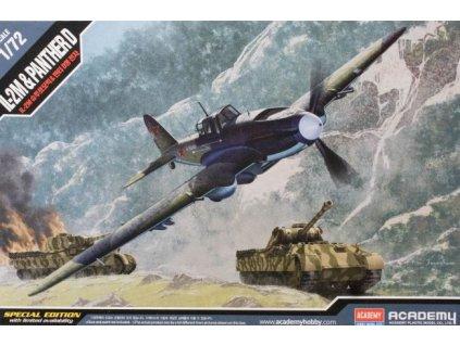 Il-2m + Panther D 1:72
