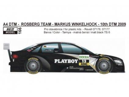 "Obtlačky  ""Playboy"" pre Audi 44 DTM 2009 1:24"