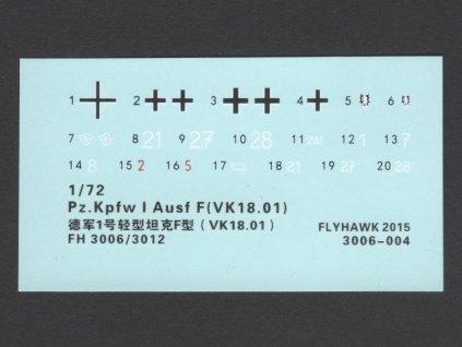 Pz.Kpfw I Ausf F (VK18.01) early 1:72