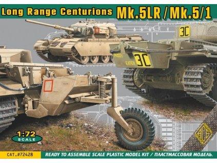 Centurions Mk.5LR / Mk.5/1 MBT 1:72
