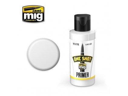 One Shot Primer - White / Základná farba - biela