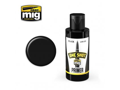 One Shot Primer - Black / Základná farba - čierna