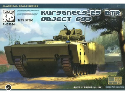 BTR Object 693 Kurganet 25 1:35