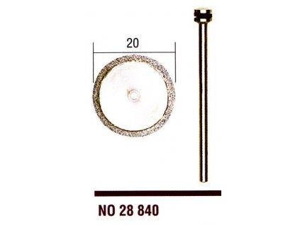 Diamantový rezný kotúč R20mm