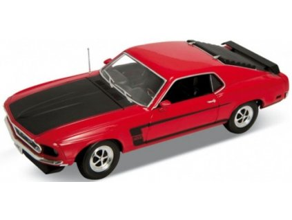Ford 1969 Mustang Boss 302 (red) 1:18