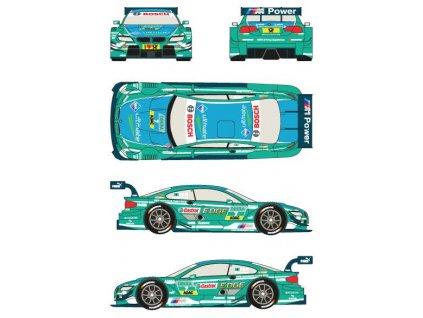 "Obtlačky pre ""Castrol Edge"" BMW M3 #7 DTM 2013 (Augusto Farfus) 1:24"