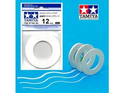 Maskovacia páska 12mm pre oblúky