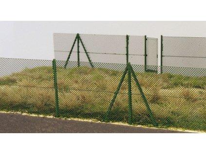 Drôtený plot 2metrový 1:72