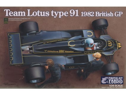 Team Lotus Type 91 1982 1:20