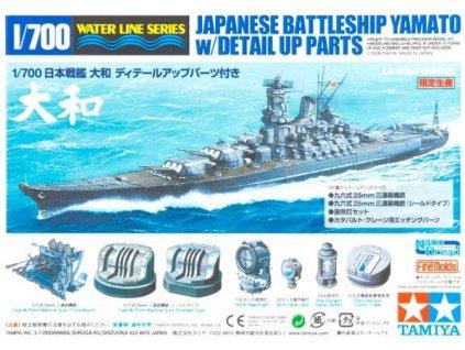 Japanese Battleship Yamato Special Edition 1:700
