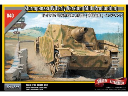 SturmPanzer IV early with interior 1:35