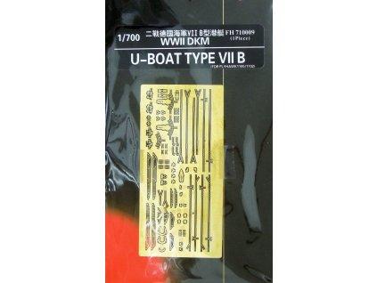 """Detaily pre U-47 """"Prien"""" U-Boat Type VII B (Flyhawk) 1:700"""