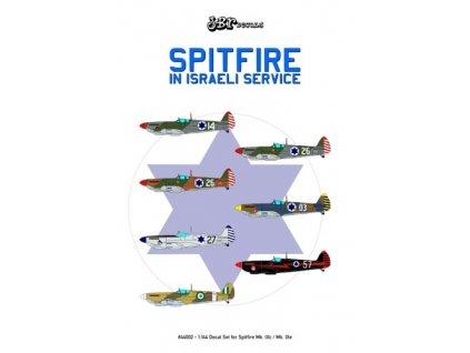 Obtlačky pre Spitfire In Israeli Service 1:144