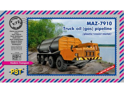 MAZ-7910.Truck oil (gas) pipeline 1:72