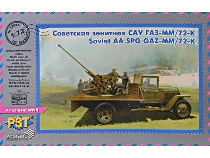 Soviet AA SPG 72-K/GAZ-MM(1943) 1:72