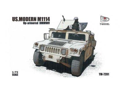 US HMMWV M1114 1:72