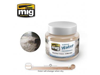 Wild River Water / divoká rieka