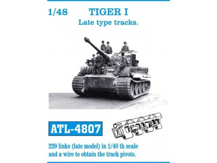 TIGER I Late type tracks 1:48