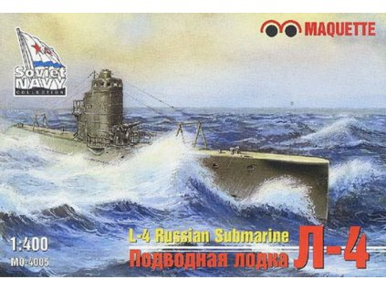 L-4 Russian submarine 1:400