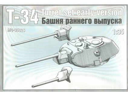 T-34 Early Version Turret 1:35
