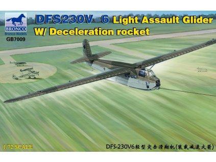 DFS230V-6 Light Assault Glider W/Decele- -ration rocket 1:72