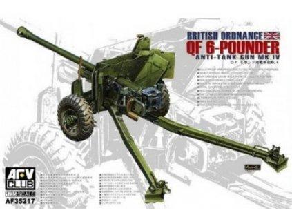 British Mk.4 6pdr Anti-tank Gun 1:35