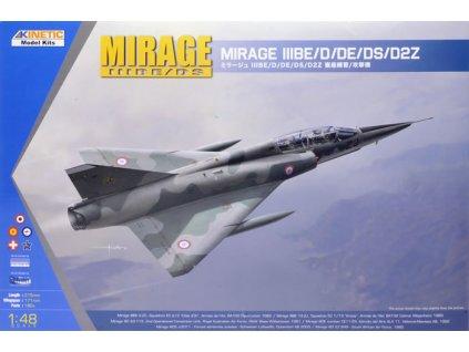 Mirage IIIBE/D/DE/DS/D2Z 1:48