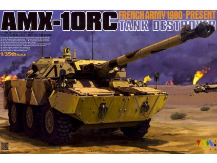 """AMX-10RC """"French Tank Destroyer 1980-Present"""" 1:35"""