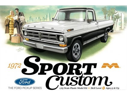Ford sport custom Pickup 1972 1:25