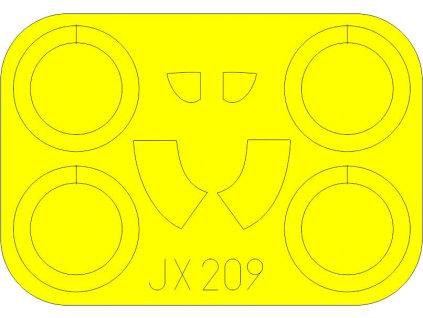 Masky pre I-16 Type 24 (ICM) 1:32