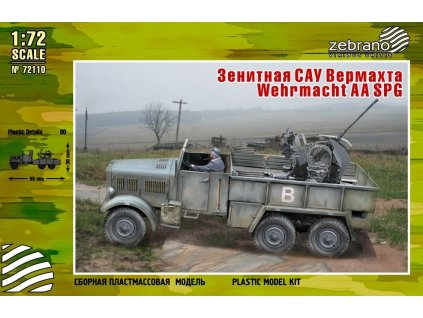 Wehrmacht AA SPG ( Einheitz w/Flak) 1:72