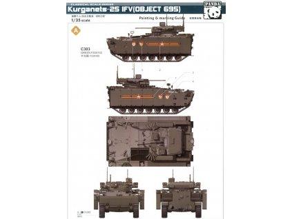 BMP Object 695 Kurganet-25 1:35