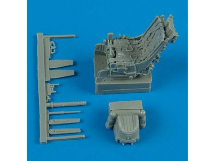Su-25 ejection seat with safety belts 1:48