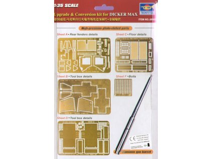Upgrade & Conversion Kit for Dicker Max 1:35