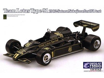 Lotus type 91 1983 Nakajima 1:20
