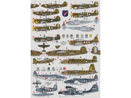 Aleutian planes, Pt.1 (16 camo schemes) 1/72