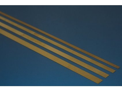 Brass stripes 0,40x40x300mm (4pcs)