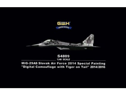 MiG 29AS Slovak Airforce 2014 Special Painting 1:48