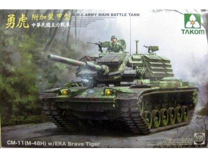 R.O.C. Army CM-11 (M-48H) Brave Tiger with ERA 1:35