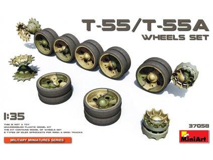 Sada kolies pre T-55/T-55A 1:35