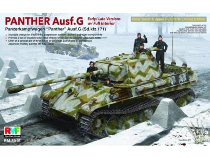 Panther Ausf.G w/Interior (Limited edition) 1:35