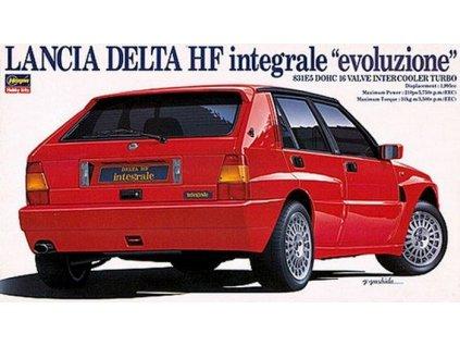 """Lancia Delta HF integrale """"evolutione"""" 1:24"""