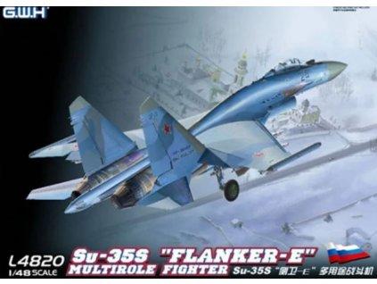 """SU-35S""""Flanker E"""" Multirole Fighter 1:48"""