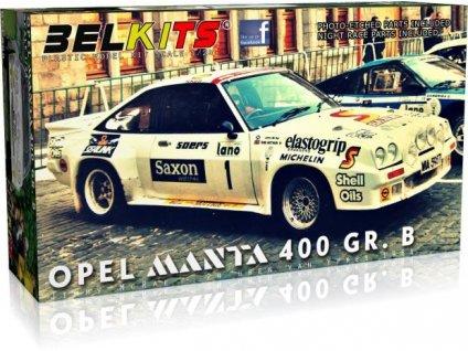 Opel Manta 400 GR.B 24 uren vanIeper 1984 Jimmy McRae 1:24