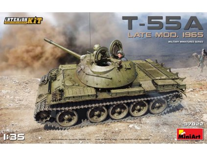 T-55A Late Mod.1965 Interior Kit 1:35
